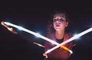 Lichtgestalten - Solana LED Hulahoop-Act