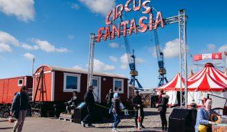 Zirkus Fantasia Zelt