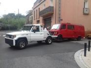 2 Abgeschleppt in Argeles-sur-mér